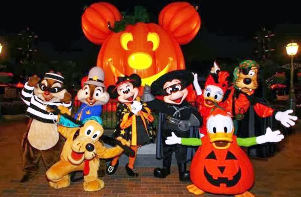 Festa de Halloween no Magic Kingdom
