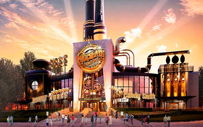 Fabrica de Chocolate na universal studios - TOOTHSOME CHOCOLATE FACTORY
