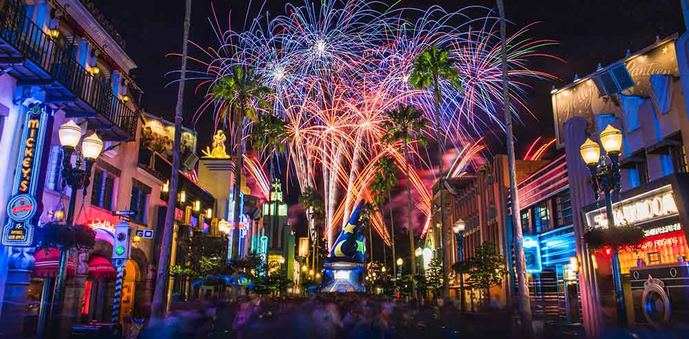 Ano Novo na Disney / Hollywood Studios