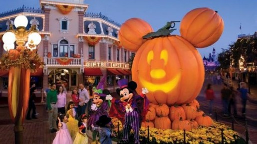 Halloween na Disney Magic Kingdom
