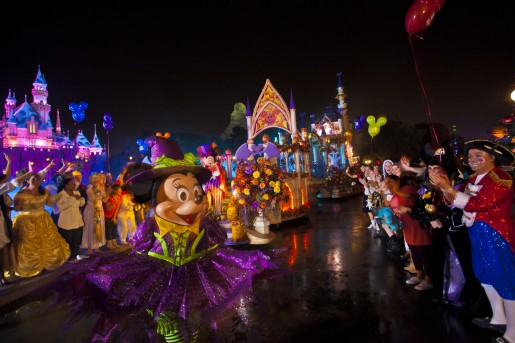 Desfile do Halloween da Disney