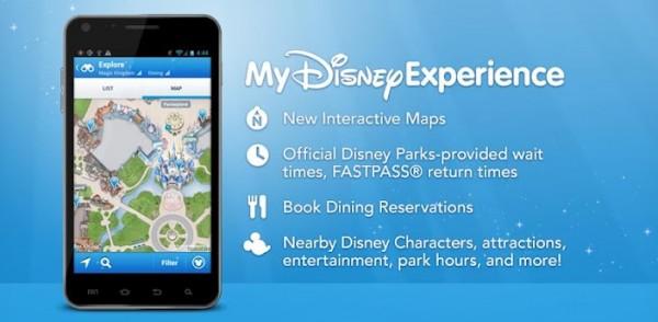 Aplicativo My Disney Experience