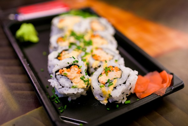 O único lugar em que você acha Sushi no Hollywood Studios!