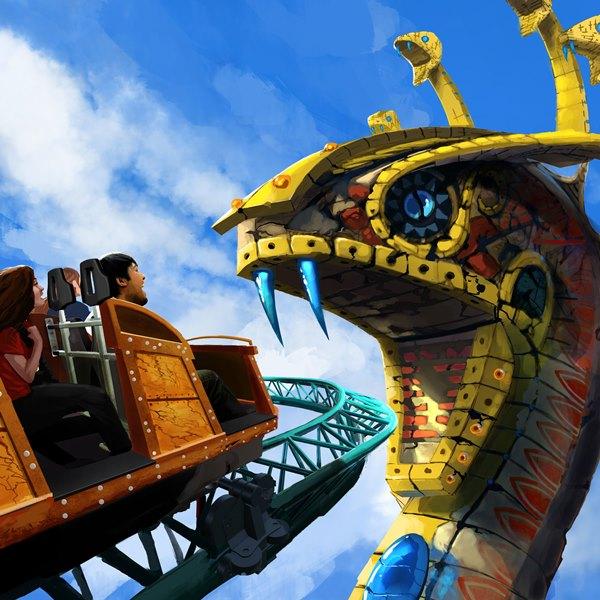Novidades Orlando 2016 - Cobra's Curse Busch Gardens