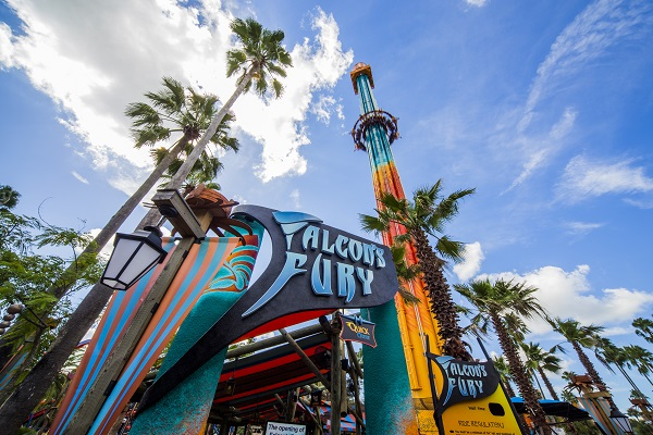 Roteiro Busch Gardens - Falcon's Fury