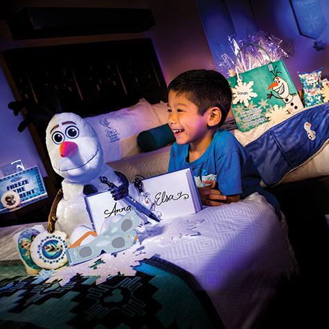 Decoração do Frozen na Disney