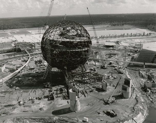 Construção do Epcot