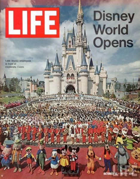 Dia da inauguração da Walt Disney World