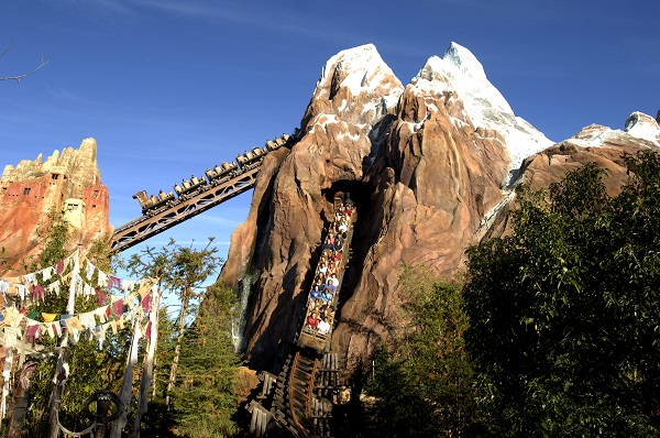 Atrações do Animal Kingdom - EXPEDITION EVEREST
