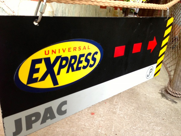 EXPRESS PASS UNIVERSAL STUDIOS 2