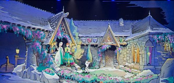 Novidades Orlando 2016 - Atração do Frozen
