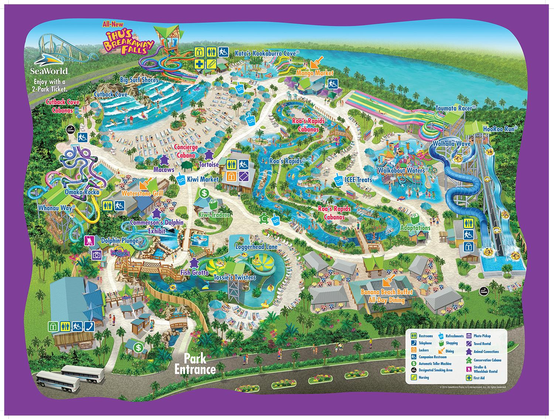 Mapas Dos Parques Orlando Disney Guia