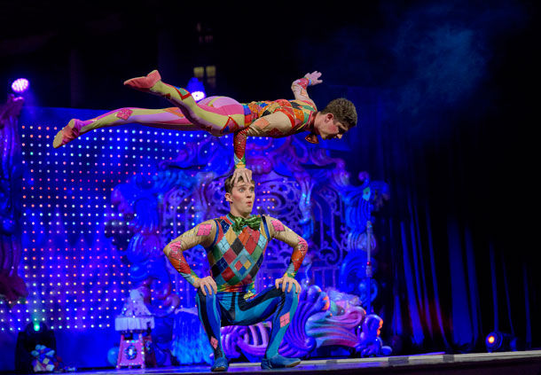 Ice Gaylord Palms Cirque Dreams