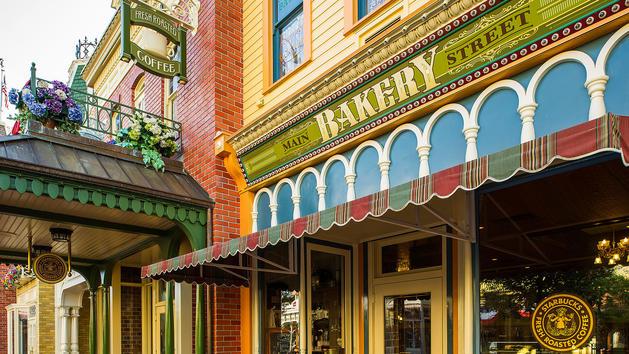 Agora vai dar pra tomar um café na Bakery antes do parque abrir!